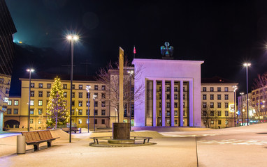 Liberation Monument in front of Landhaus in Innsbruck - Austria