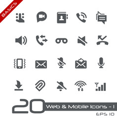 Web & Mobile Icons-1 -- Basics