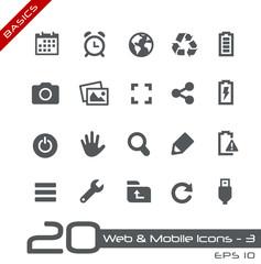 Web & Mobile Icons-3 -- Basics