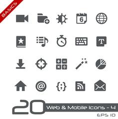 Web & Mobile Icons-4 -- Basics