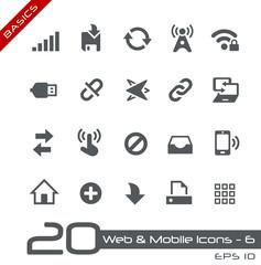 Web & Mobile Icons-6 -- Basics