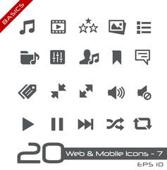 Web & Mobile Icons-7 -- Basics