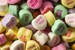 Colorful Candy Conversation Hearts - 75810205