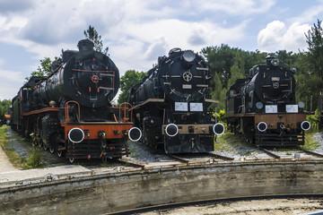 Ausgemusterte Dampflokomotiven