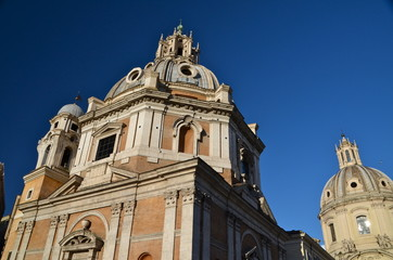 Church of Santa Maria di Loreto in Rome