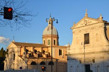San Rocco all'Augusteo church a Baroque landmark in Rome