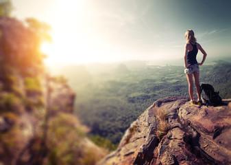 Hiker lady