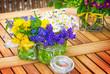 canvas print picture - Blumen, Tischschmuck, Ostern