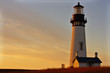 Lighthouse at sunset - 75815630