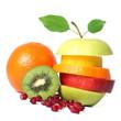 Fresh fruits mix