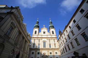 Jesuits church in Vienna, Austria