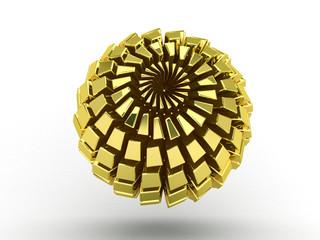 Logo sfera - astratto