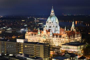 Rathaus von Hannover, Deutschland