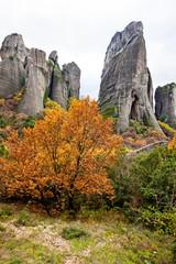 Meteora Rocks, Trikala region, Greece