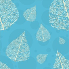 seamless texture leaves