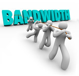 Bandwidth Word Pulled Team Resources Limited Ability Time poster