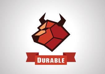 Durable Cow logo