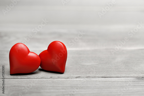 canvas print picture Valentines heart for love