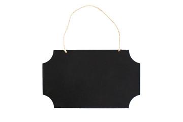 Chalkboard with twine hanger