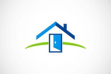 home door logo