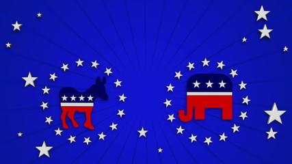 Republicans vs Democrats with Alpha