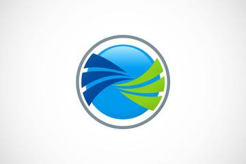 swirl round logo
