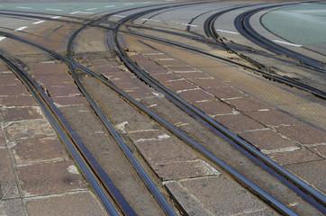 路面電車のレール