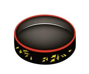 Beautiful Sushioke or Round Sushi Serving Platter