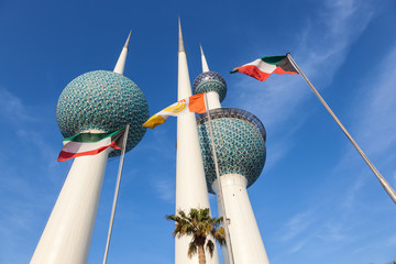 The Kuwait Towers, Middle East