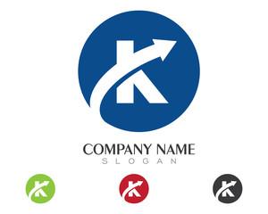 K Logo Template 2