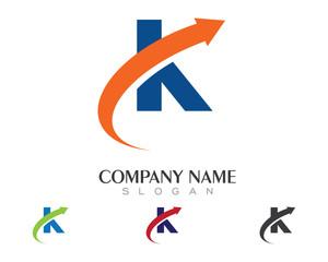 K Logo Template 1