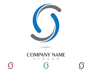 S Logo Template