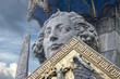 Leinwanddruck Bild - roland bremen statue