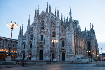 Milano il Duomo