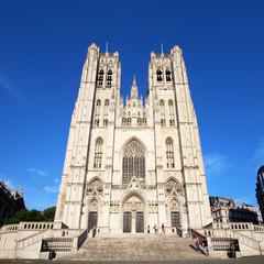 Bruxelles (belgique) - Cathédrale