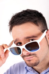 Boy with sun glasses