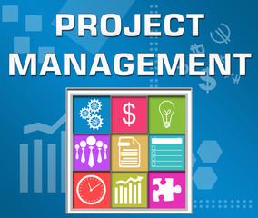 Project Management Business Theme Square