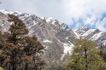Himalayas from Yamunotri Valley