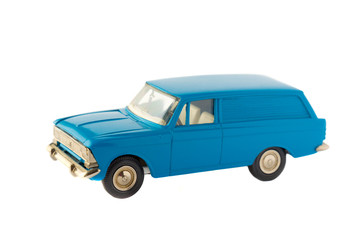 Toy car isolated model