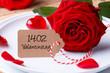 Romantisch essen am Valentinstag