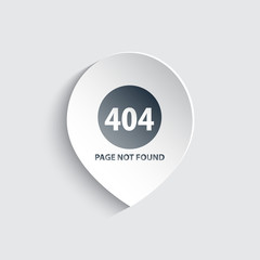 404 page not found vector illustration, eps10, easy to edit