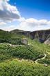 Obrazy na płótnie, fototapety, zdjęcia, fotoobrazy drukowane : Monastery on top of rock in Meteora, Greece