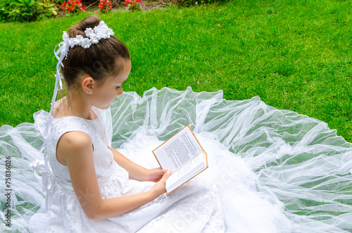 canvas print picture First Holy Communion