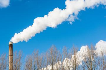 Smoking chimney