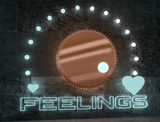 feelings adjust regulator with neon shine scale