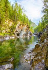 Altai river Kumir