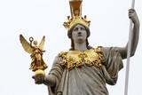Pallas Athene greek goddess of wisdom, Vienna