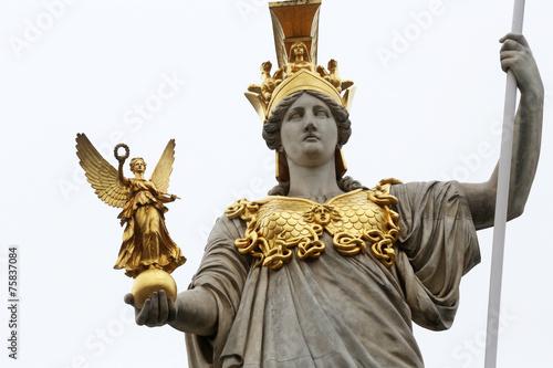 Fotobehang Wenen Pallas Athene greek goddess of wisdom, Vienna