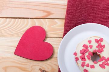 Naschwerk zum Valentinstag