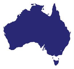 Australia Silhouette